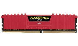 Corsair Vengeance LPX Red 8GB DDR4-2400 CL16
