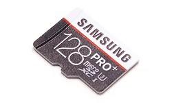 Samsung Pro+ MicroSDXC UHS-I U3 128GB + Adapter