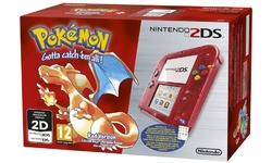 Nintendo 2DS Console + Pokémon Red