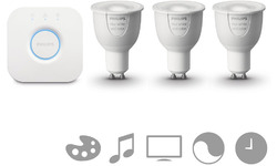 Philips Hue White and Color Ambiance Starterkit GU10