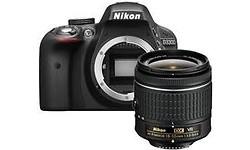 Nikon D3300 18-55 VR kit Black