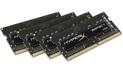 Kingston HyperX 16GB DDR4-2400 CL15 Sodimm quad kit