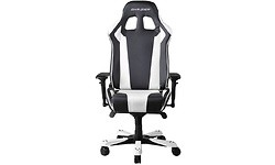 DXRacer King Gaming Chair Black/White (OH/KF06/NW)