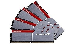 G.Skill Trident Z 64GB DDR4-3000 CL14 quad kit