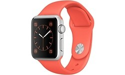 Apple Watch Sport 38mm Silver Aluminium Case Apricot Sport Band