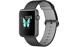 Apple Watch Sport 42mm Space Grey Aluminium Case Nylon Black