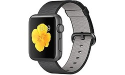Apple Watch Sport 38mm Space Grey Aluminium Case Black Woven Nylon