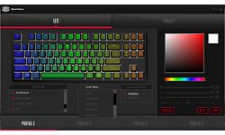 Cooler Master MasterKeys Pro S RGB Cherry MX Brown, Black (US)