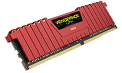 Corsair Vengeance LPX Red 32GB DDR4-3200 CL16 quad kit
