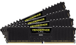 Corsair Vengeance LPX Black 64GB DDR4-2400 quad kit