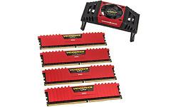 Corsair Vengeance LPX Red 32GB DDR4-3733 CL17 quad kit