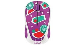 Logitech M238 Wireless Mouse Party Col- Cocktail