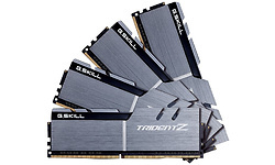 G.Skill Trident Z 64GB Black/Silver DDR4-3200 CL16 quad kit