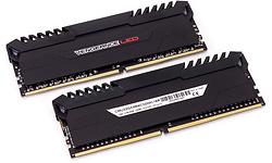 Corsair Vengeance Black/Red LED 16GB DDR4-3200 CL16 kit