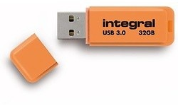 Integral Neon 32GB Orange (USB 3.0)