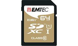 Emtec Gold+ SDXC Class 10 64GB + Adapter