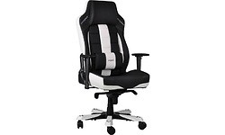 DXRacer Classic CE120 Gaming Chair Black/White