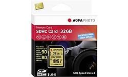 AgfaPhoto Professional High Speed SDHC UHS-I U3 32GB