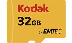 Emtec MicroSDHC 32GB + Adapter