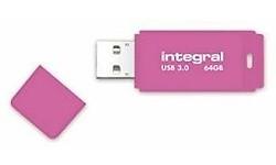Integral Neon 64GB Pink (USB 3.0)