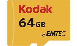 Emtec MicroSDXC Class 10 U3 64GB + Adapter