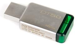 Kingston DataTraveler DT50 16GB Green