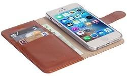Krusell Ekerö 2-in-1 Wallet Case Apple iPhone 5/5S/SE Brown