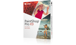 Corel PaintShop Pro X9 Mini-Box