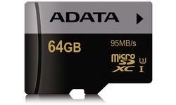 Adata Premier Pro MicroSDXC UHS-I 64GB + Adapter