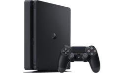 Sony PlayStation 4 Slim Black 500GB + DualShock 4 Controller