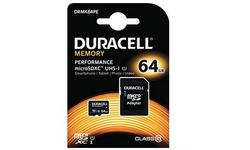 Duracell Performance MicroSDXC UHS-I 64GB kit + Adapter
