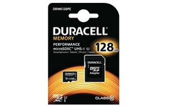 Duracell Performance MicroSDXC UHS-I 128GB + Adapter