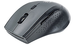 Manhattan Curve Wireless Optical Mouse Grey