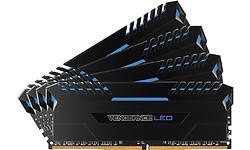 Corsair Vengeance LED Blue 32GB DDR4-3000 CL15 quad kit