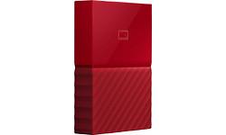 Western Digital My Passport 4TB Red