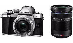 Olympus OM-D E-M10 Mark II 14-42 + 40-150 kit Silver