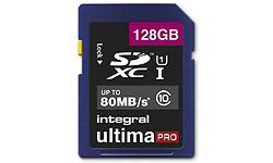 Integral UltimaPro SDXC Class 10 128GB