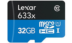 Lexar High Performance MicroSDHC UHS-I 32GB + Adapter