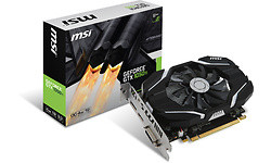 MSI GeForce GTX 1050 Ti OC 4GB