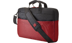 """HP 15.6 Duotone Red Briefcase 15.6"""" Black/Red"""