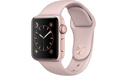 Apple Watch Series 2 38mm Rose Gold Sport Band Rose Gold