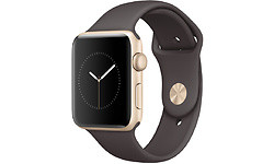 Apple Watch Series 2 42mm Gold Sport Band Cacao