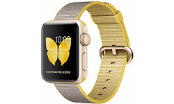 Apple Watch Series 2 38mm Gold Sport Band Yellow/Grey