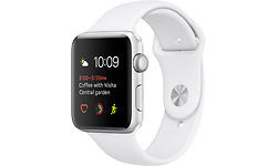 Apple Watch Series 2 42mm Sport Band Silver/White