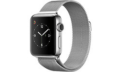 Apple Watch Series 2 38mm Silver Sport Band Silver
