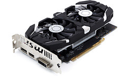 MSI GeForce GTX 1050 Ti V2 OC 4GB