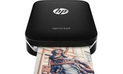 HP Sprocket Mobile Photo Printer Black