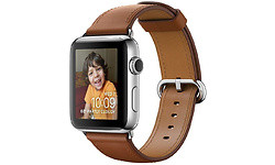Apple Watch Series 2 42mm Large Leather Brown