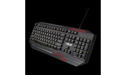 Asus Sagaris GK100 Black/Red (DE)