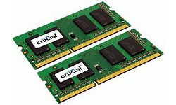 Crucial 16GB DDR3-1333 CL9 Sodimm (Mac)